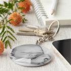 Custom your baby photo personalized keychain