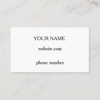 Custom your business cards
