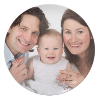 Custom your family photo personalized plate