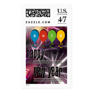 Custom Your Happy New Year! Stamp (Vertical)