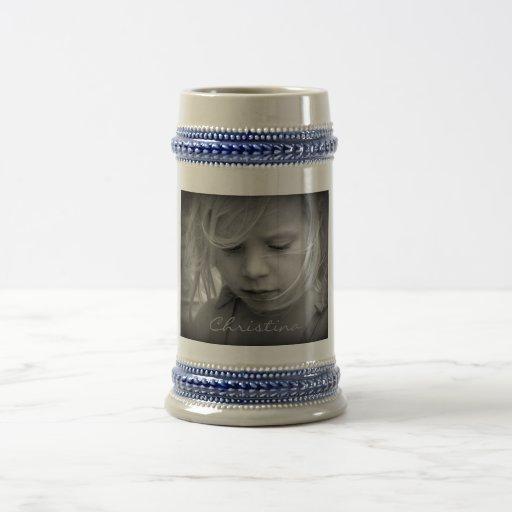 Custom your photo personalized girls name, gift coffee mugs