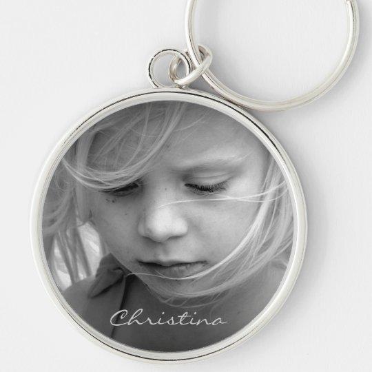 Custom your photo personalized name keychain