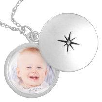 Custom your photo personalized name locket
