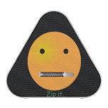 Custom Zip It Happy Face Smiley Bluetooth Speaker