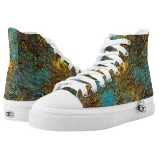 Custom Zipz HighTop Shoes-sneakers,US Men/US Women High-Top Sneakers