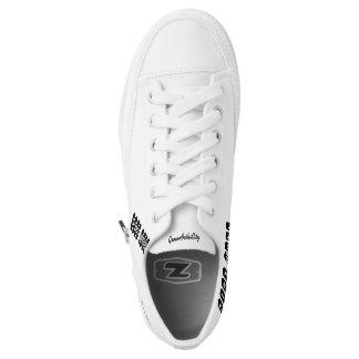Custom Zipz Low Top Shoes