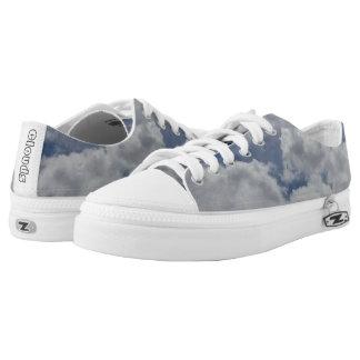 Custom Zipz Low Top Shoes, US Men 9 / US Women 11 Printed Shoes