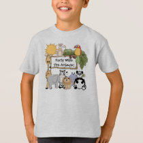 Custom Zoo Animals T-shirt