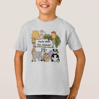 Custom Zoo Animals T-shirt