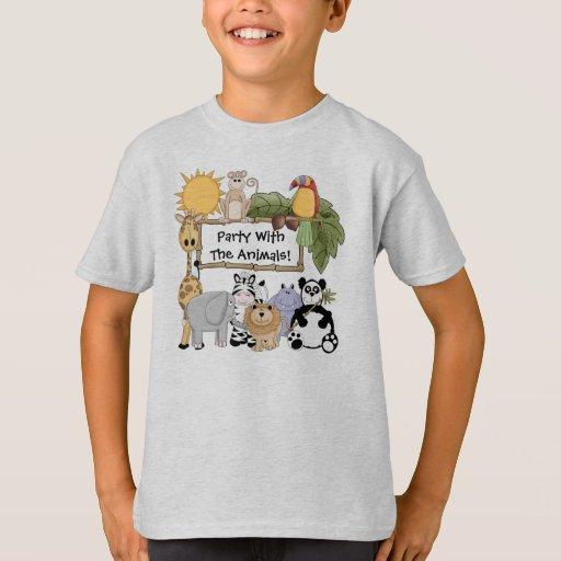 Custom zoo animals t shirt zazzle for Zazzle custom t shirts