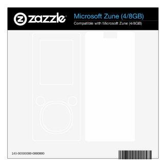 Custom Zune 4Gb Skin Decal For Zune