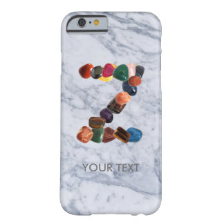 "Customable Gemstone Initial ""Z"" Barely There iPhone 6 Case"