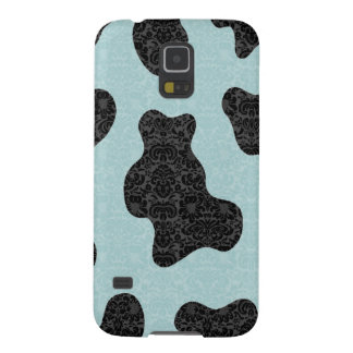 Custome name classy romantic cow damask No.1 Case For Galaxy S5