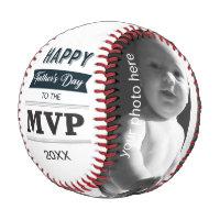 Custome Photo MVP of Father's Day Baseball