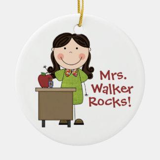 Custome Teacher Christmas Ornament