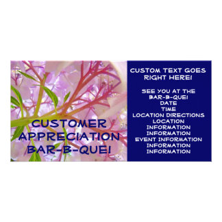 Customer Appreciation Bar-B-Que! cards invitations Photo Cards
