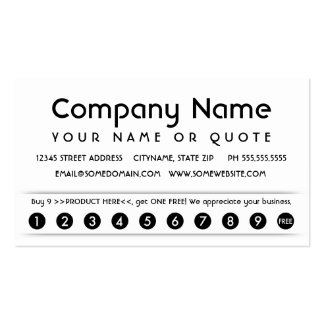 customer appreciation card Double-Sided standard business cards (Pack of 100)