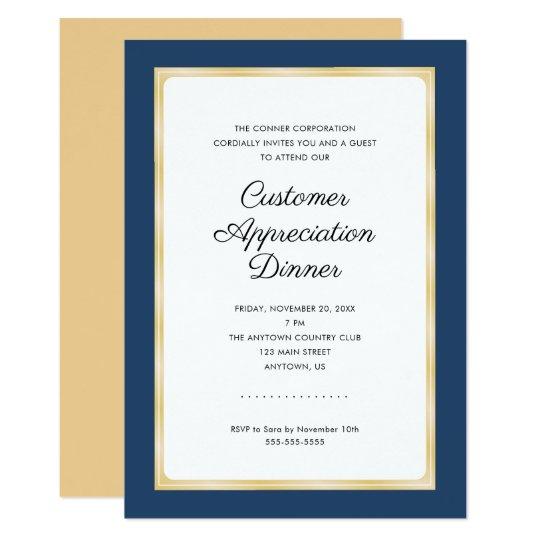 Customer Reciation Event Invitation