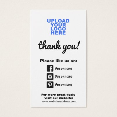 Customer appreciation social media icons square business card customer appreciation social media icons square business card zazzle reheart Gallery