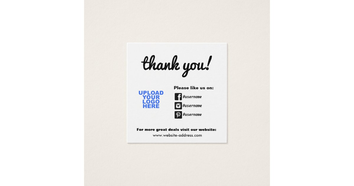 Social Media Icons Business Cards & Templates | Zazzle