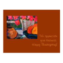 Customer appreciation Thanksgiving Card