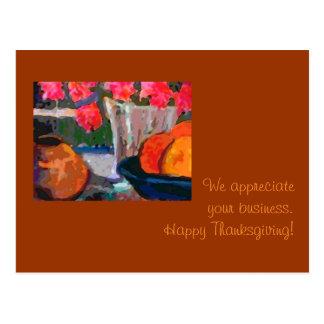 Customer appreciation Thanksgiving Card Post Cards