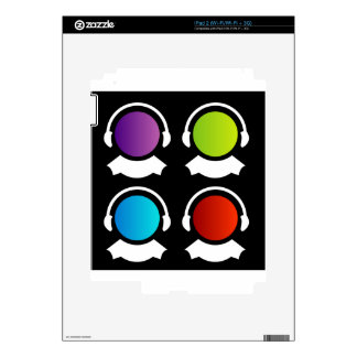 customer care center skins for the iPad 2