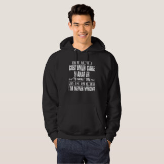 CUSTOMER CARE MANAGER HOODIE