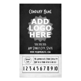 Customer Loyalty Business Card