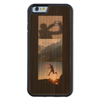 Customer Photo Collage iPhone 6 Case (Bumper Wood)