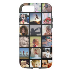 Customer Photo Collage Iphone 7 Case (-mate) at Zazzle