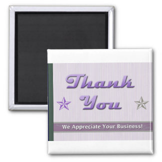 Customer Relations and Appreciation Magnet