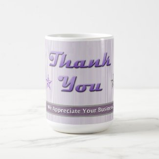 Customer Relations Purple Stars and Stripes Coffee Mug