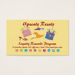 Customer Rewards Business Card