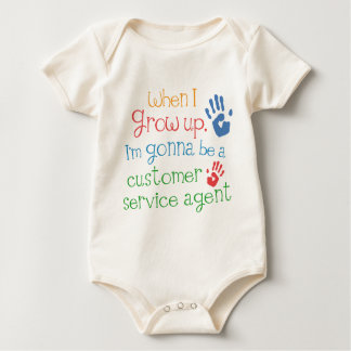 Customer Service Agent (Future) Infant Baby T-Shir Baby Bodysuit