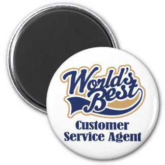Customer Service Agent Gift 2 Inch Round Magnet