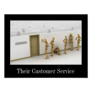 Customer Service gone wrong - Poster