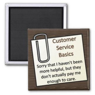 Customer Service Magnet