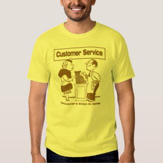 Customer Service Tee Shirts