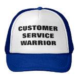 Customer service warrior hat mesh hat