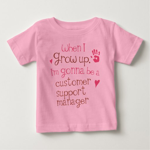 Customer Support Manager (Future) Infant Baby T-Sh Tees T-Shirt, Hoodie, Sweatshirt