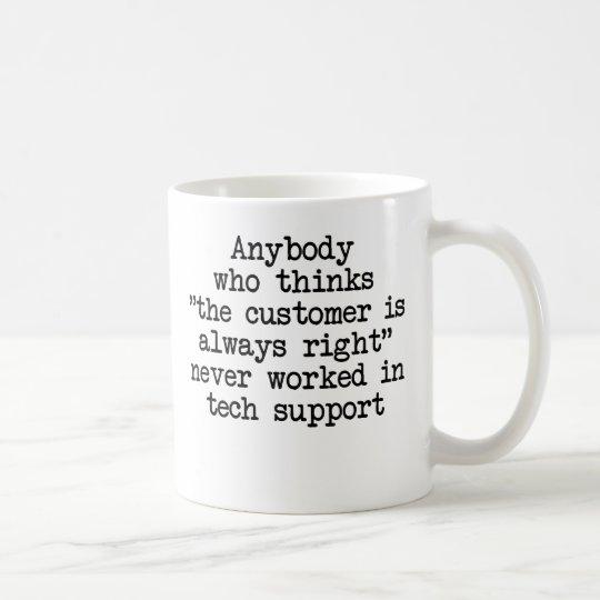 Customers Are Wrong Coffee Mug