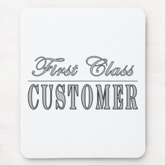 Customers First Class Customer Mouse Pad
