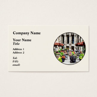 CustomiChicago - Enjoying Lunch on the Magnificent Business Card