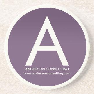 Customisable Alphabet Coaster