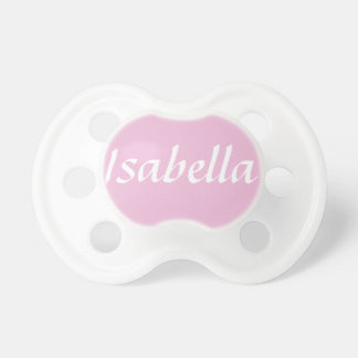 Customisable Baby Name Pacifier Dummy BooginHead Pacifier