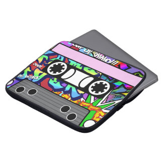 Customisable Cassette Tape Laptop Sleeve