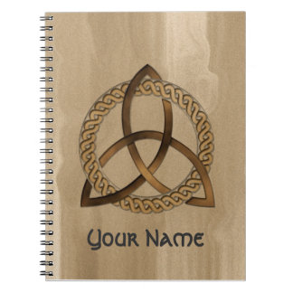 Customisable Celtic Trinity Knot Notebook