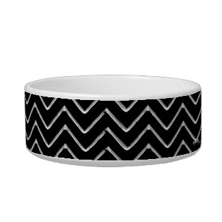 Customisable Chevron (Metallic) Bowl