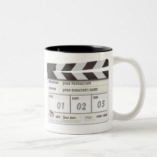 Customisable Clapperboard Mug
